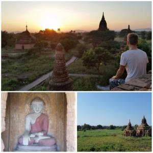 Flo-Bro, Bagan, Sunrise, Myanmar