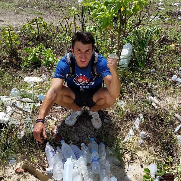 Plastic pollution in Cambodia